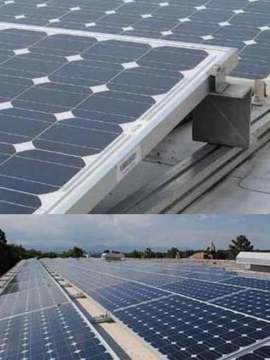 Pv Solar Panel Roof Mount Hardware Pv Solar Racking